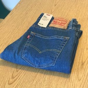 Levi's 511 30x32 blue denim new with tags